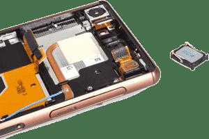 تعمیر اسپیکر گوشی سونی