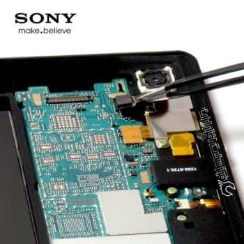 تعمیر دوربین تبلت سونی