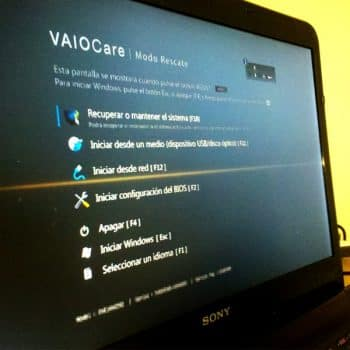تنظیمات بایوس لپ تاپ سونی