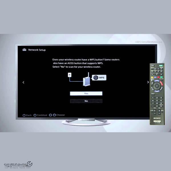 اتصال تلویزیون سونی به اینترنت