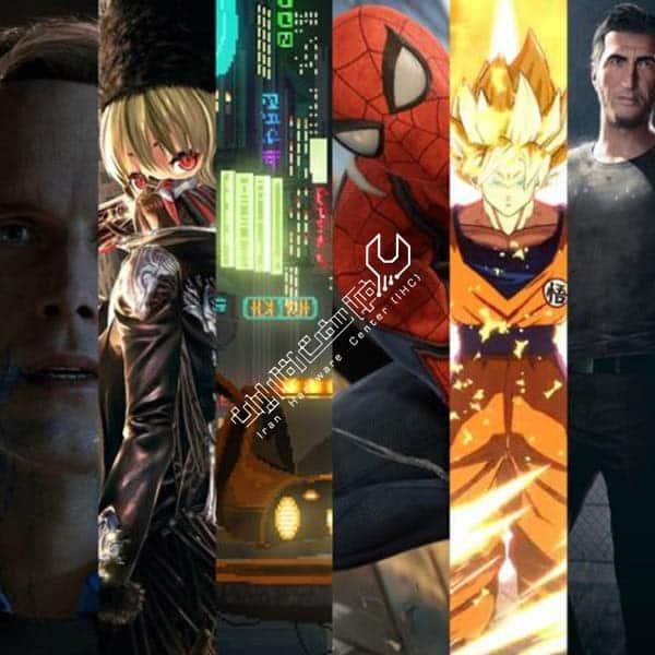 بهترین بازی های PS4 2018