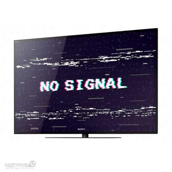 سیگنال نداشتن تلویزیون سونی