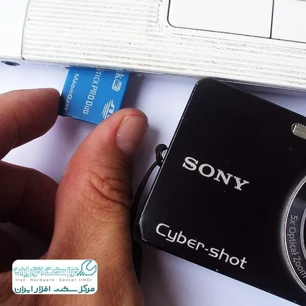 انتقال عکس از دوربین سونی به کامپیوتر