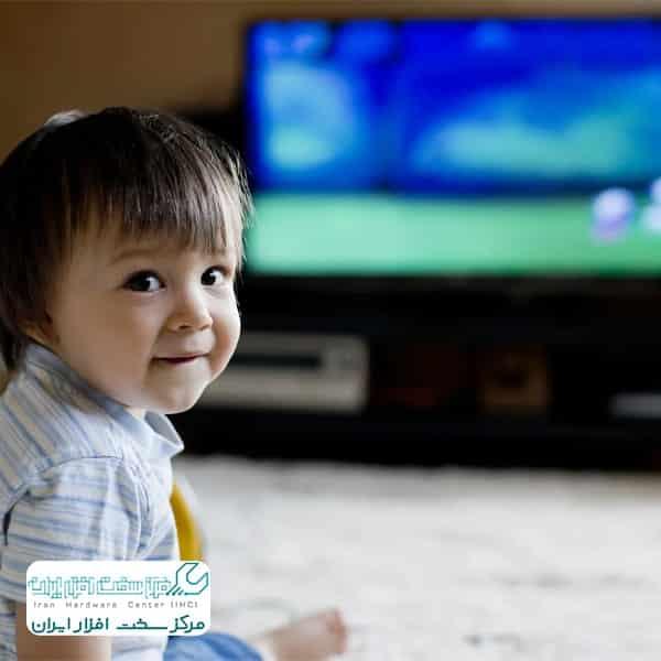 قفل کودک تلویزیون سونی