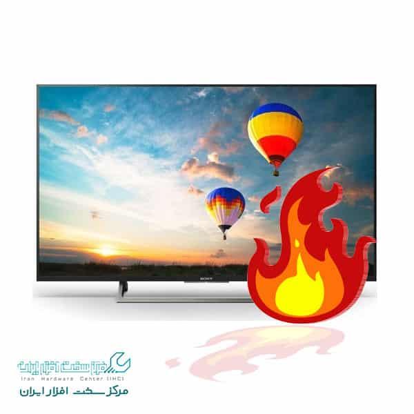 داغ شدن تلویزیون سونی