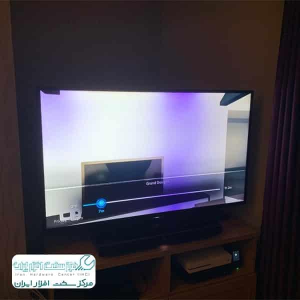 تعمیر آبخوردگی پنل تلویزیون سونی