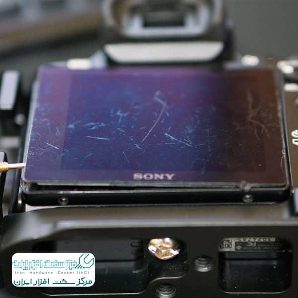 تعمیر ال سی دی دوربین سونی