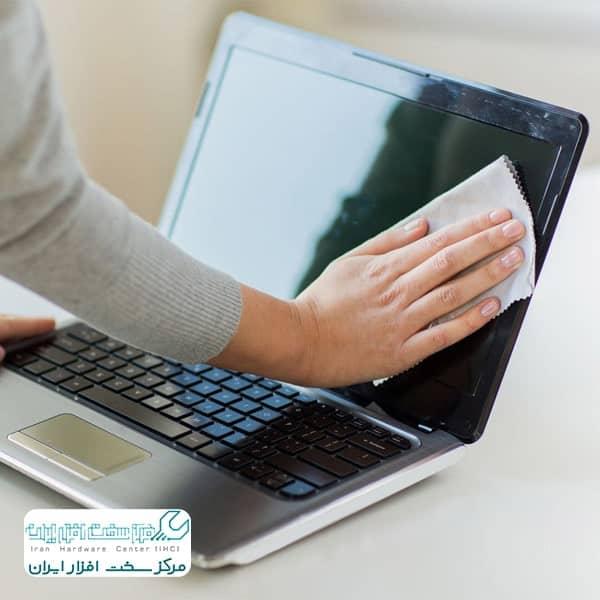 تمیز کردن لپ تاپ سونی