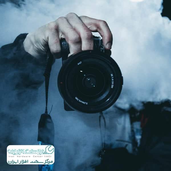 کار با دوربین عکاسی سونی