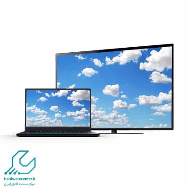 اتصال لپ تاپ به تلویزیون سونی