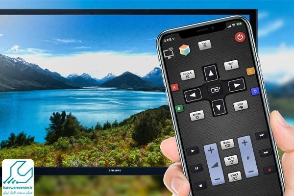 تبدیل گوشی به کنترل تلویزیون سونی