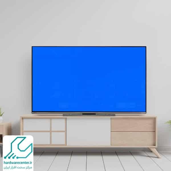 آبی شدن صفحه تلویزیون
