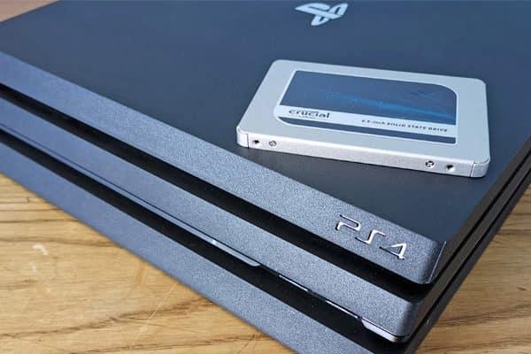 نصب هارد SSD روی PS4