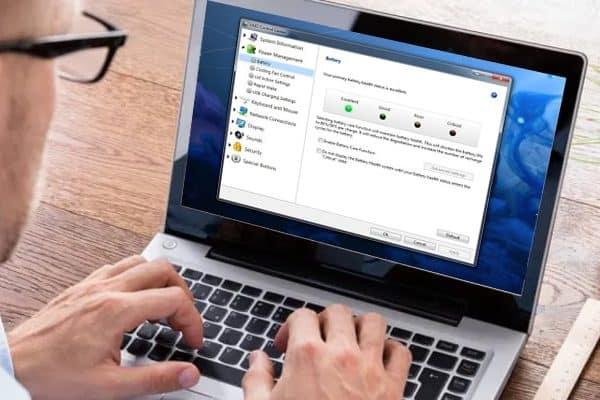 کنترل سرعت فن لپ تاپ سونی