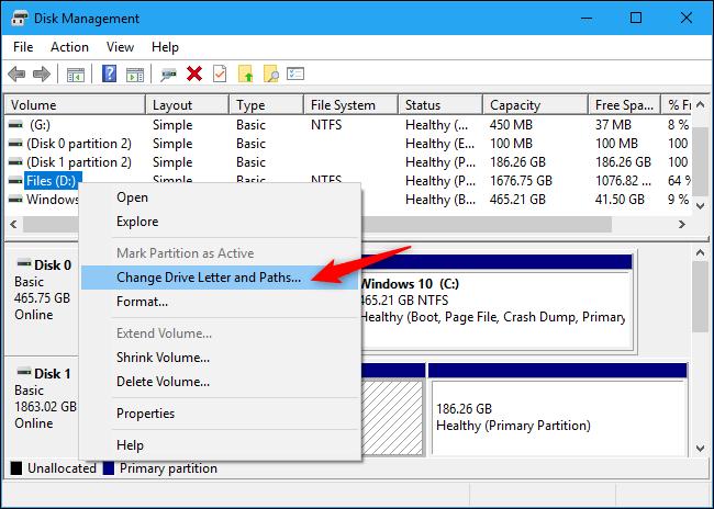 مخفی سازی درایو لپ تاپ
