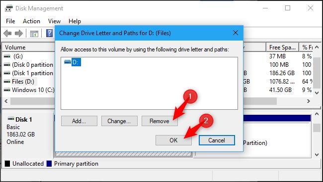 مخفی کردن درایو لپ تاپ